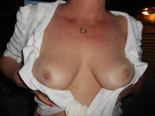 Great tits love the nipples and don't have to ask me twice