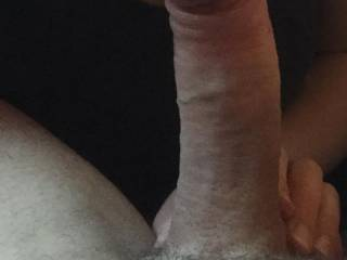 I was in my man cave playing pool and the wife came in just for a cheeky suck on my cock