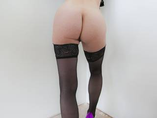Just prancing around nearly naked before bending over to have a cock up her cunt due to the arousal she was causing