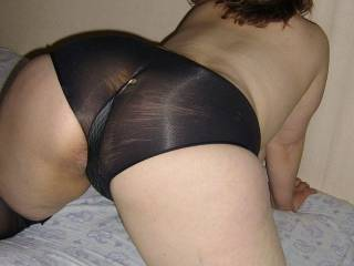 WOW!   I just want to slam  my balls against that big wonderful ass