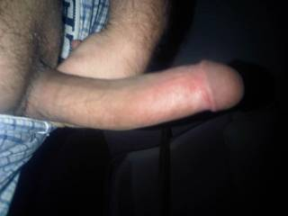 that is one nice long cockwould love to try to fit thatin my pussy. all the way to the bottom. OH YA