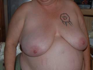 Nice tits  id love to suck on them nipples