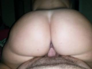 Riding hubbies cock!!!   Who wants to be next