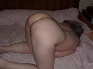 LOve to fuck both those holes and then spank that hot ass. MMMMMMMMMM