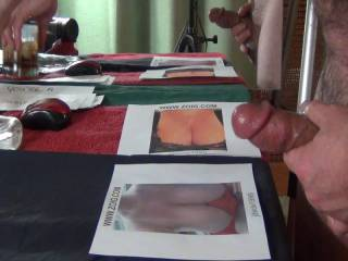 Blasting a load of cum, over the ever-so-sexy, Miss JdwClw1999