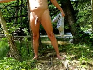 Just love the nude outdoors.