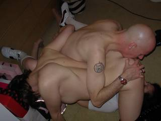 Terry licked her ass while I licked her pussy xxx