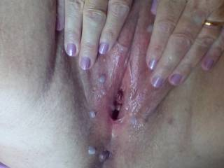 Wow stunning!!!!!! Instant hard on love to eat my cum from your gorgeous pussy. My cock is rock hard wanking off right now over you!!