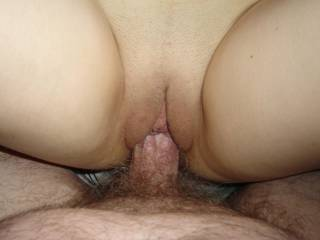 Darling! Shaven pussy! It looks SO nice! I am licking you both! Her clit and your cock! What more do I want! I wish I could penetrate her and let you suck me till I cum!