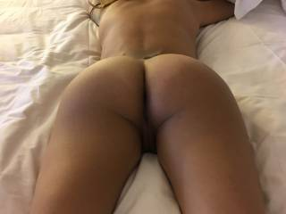 My wife\'s bubble butt