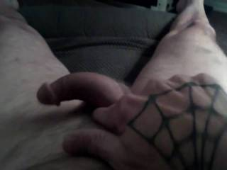 He needs attention...wanna lend a hand or mouth...lol