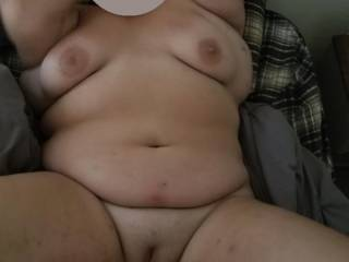 we want you to masturbate to her naked body while shes spreading her legs and showing you her shaved wet pussy that im about to fuck