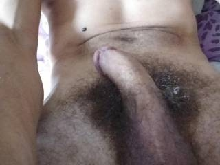 Getting used to single life only thing I get up with is this rock hard cock