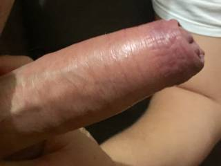 Got my man really hard so he can fuck my tight pussy