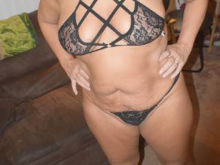Hubby bought me a new bra...