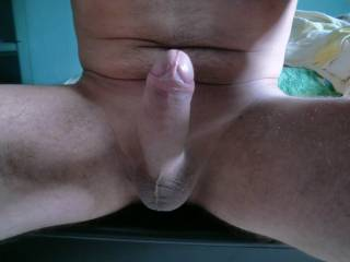 You have a beautiful cock and such nice tight balls! Mmmmmmm....