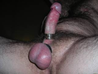 Those bands make your balls bulge beautifully. Great picture.