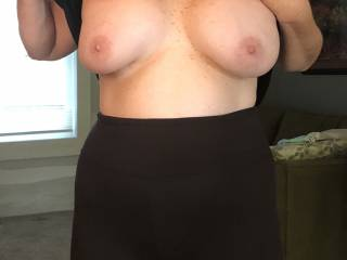 Heyjoe50. You want to suck on these and cover them with your cum!!!