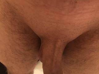Just about to jump in the shower, freshly shaved cock. Let me know if you like it please.😊😊
