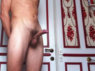 Your cock and balls look so nice in this photo!  HD