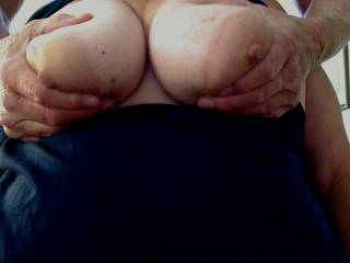 I see you like my wifes pussy i love your wifes tits...  my wife is countrygrl79