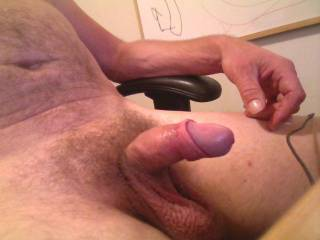 I  like your nice cock and I would like to continue with your cock and get it hard and make you cum again.