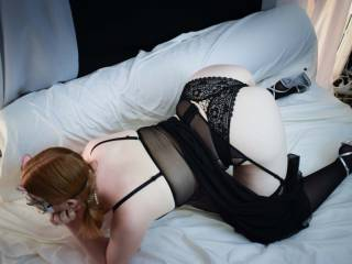 Missredpussy model young redhead french housewife in lingerie