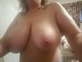 My 38DD boobs.....ready for fucking.