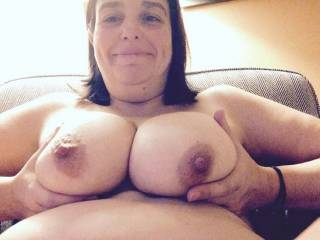Wrap those tits around my cock and make me cum on your pretty face
