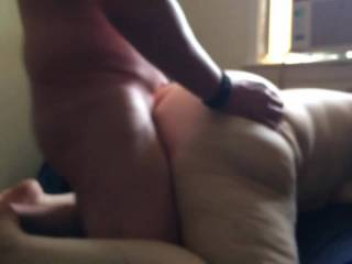 My wife fucking a stranger we met online. (Part 3) He cums inside of her at the end.