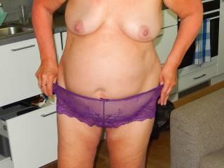 She is my 61 y/o wife,hope you like