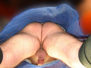 Great view.  I would kiss and lick everything until I got to rimming you.