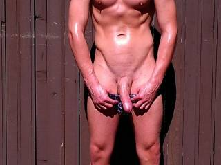 Do you like my body all oiled up? Can you help me rub it in?
