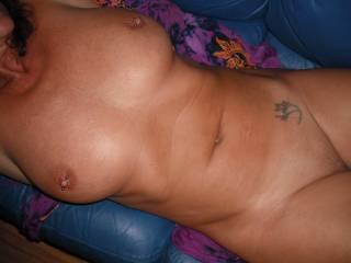 so o very  sexy n  yess  i  luv  the  pierced   nipple n mmmm  that  sweet  pussy is all  good