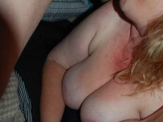 Sure would love to cover those beautiful tits too!