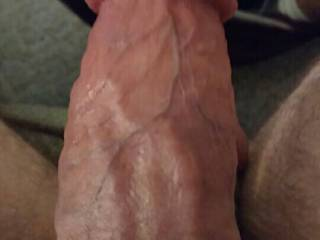 A good close up of my vascularity. And yes it is flaccid.   Do you like a veiny cock?