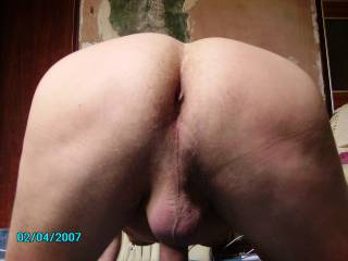 mmmm nice arse! would be nice to givbe that a good spanking till nice and hot and red then slide my cock all the way inside that very nice looking arsehole mmmmm having very nice thoughts here hope you enjoy sharing those with me