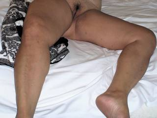 Having some great big cocks cum inside me already, now getting extremely hot waiting for a good beating and pussy abusive playing.
