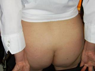 Doing a naughty schoolgirl strip on Zoig - do you like my ass?