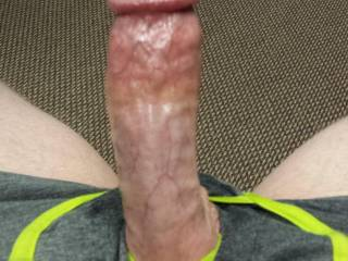 I would love to feel that cock balls deep in my throat....swelling harder, throbbing then twitching as you shoots streams of cum down my throat...makes me rock hard thinking of it