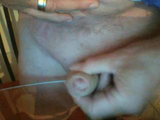 lovely wank, couldn't keep my hand off my cock whilst watching it. It really got me going!