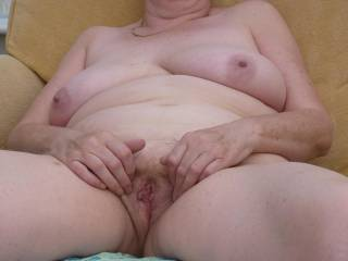 more of my 61 yr old pussy   pls let me know if you jack off to this