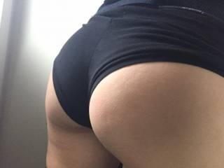 Her lovely ass....