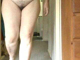 More of the wife for your comments as she faces camera naked