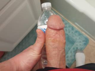 Wifey wanted to know how big my dick really was... do you think you can handle it?