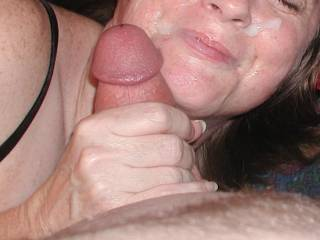 you look absolutely gorgeous like that, nothing can beat a mature woman who enjoys a facial