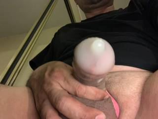 I like to make bags of cum! Love stoking my cock!