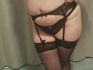 first time in sexy lingerie, hope you like