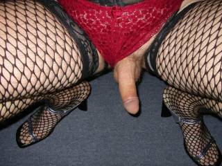 love the cock..love the lingerie..love the shoes....u r fucking hot!!