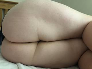 Who would like to fuck my Wifey's fat ass, it's so big needs a big cock to take that on hey?